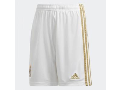 Real Madrid hjemme shorts 2019/20 - børn
