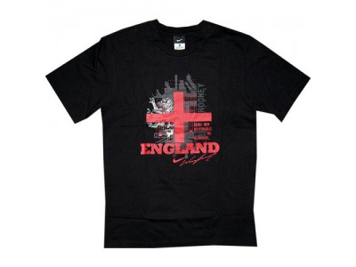 England hero's tee World Cup 2010 Rooney 9 - black