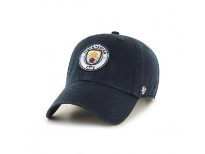 Manchester City kasket - clean up cap - marineblå