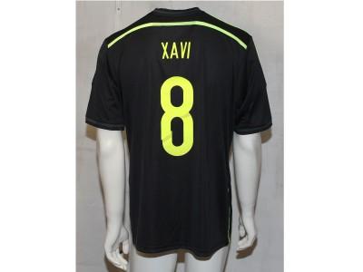 Spanien ude trøje 2014 - voksen - Xavi 8