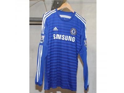 Chelsea hjemme trøje L/Æ 2014/15 - Fabregas 4