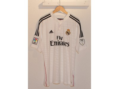 Real Madrid hjemme trøje 2014/15 - Ronaldo 7 - badge