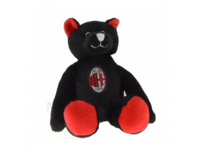 AC Milan mini bamse - sort