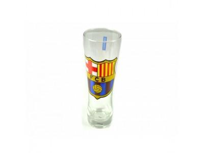 FC Barcelona pint glas høj tynd