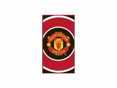 Manchester United håndklæde - bulls eye