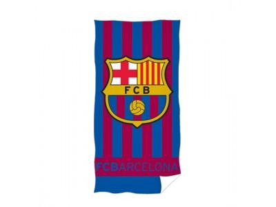 FC Barcelona håndklæde - logo striper