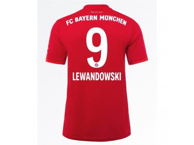 FC Bayern München hjemme trøje 2019/20 - LEWANDOWSKI 9