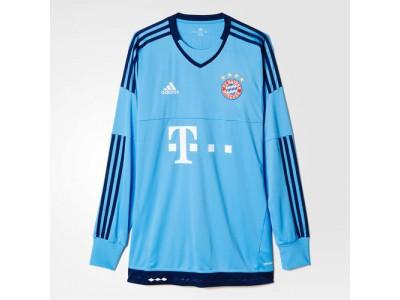 FC Bayern målmands hjemme trøje L/Æ 2015/16
