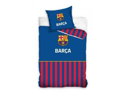 FC Barcelona sengetøj - blå - striper