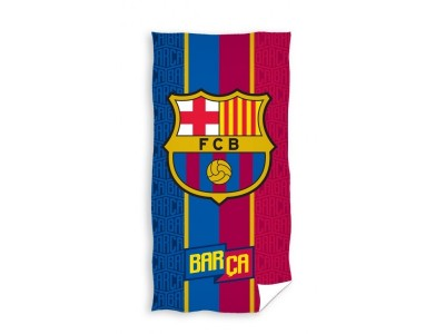 FC Barcelona håndklæde - tynde striper