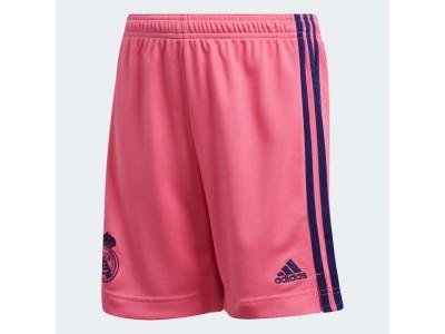 Real Madrid ude shorts 2020/21 - børn - fra adidaS