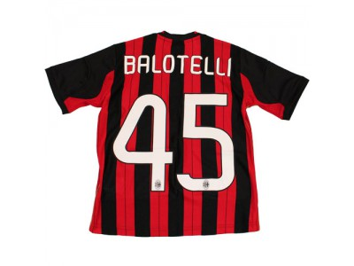 AC Milan hjemme trøje 2013/14 Balotelli 45