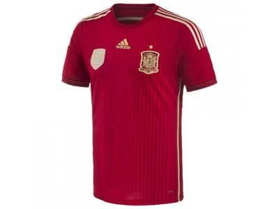 Spanien autentisk hjemmetrøje - VM 2014