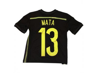 Spanien ude trøje 2014 - Mata 13