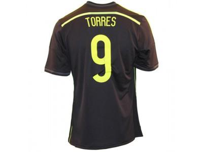 Spanien ude trøje 2014 - Torres 9