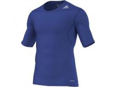 Adidas kompressions-trøje - blå