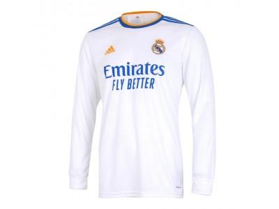 Real Madrid hjemme trøje L/Æ 2021/22 - fra adidas