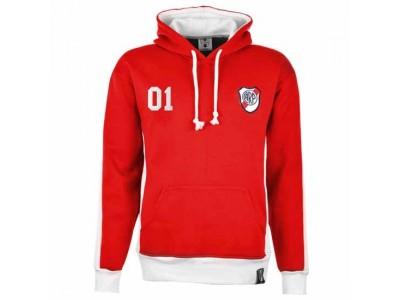 River Plate Number 01 Retro Hættetrøje