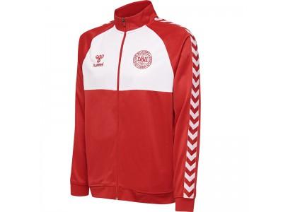 Denmark fan track top - rød hvid