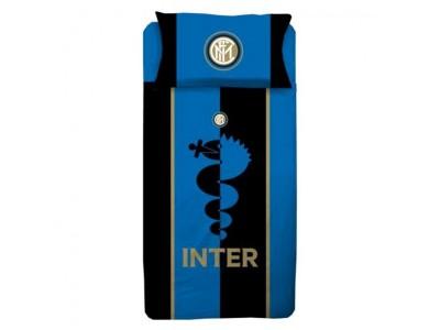 Inter sengetøj - blå/sort