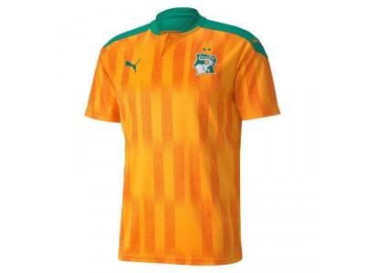 Elfenbenskysten hjemme trøje 2021/22 - fra Puma