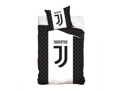 Juventus sengetøj - sort hvid