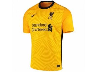 Liverpool ude målmandstrøje 2020/21 - børn
