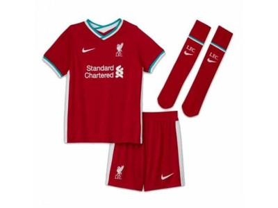 Liverpool hjemme sæt 2020/21 - små børn