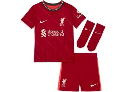 Liverpool hjemme sæt 2021/22 - små børn - fra Nike