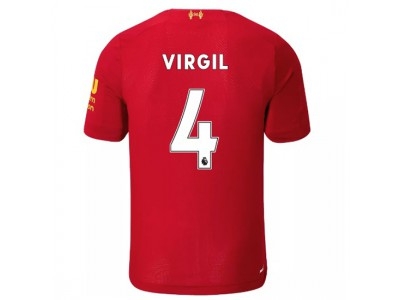 Liverpool hjemme trøje 2019/20 - Virgil 4