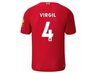 Liverpool hjemme trøje 2019/20 - Virgil 4 - børn