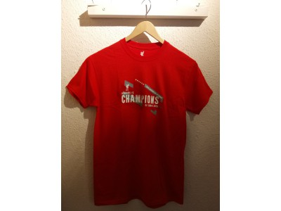 Liverpool Champions of Europe 2019 Tshirt - børn