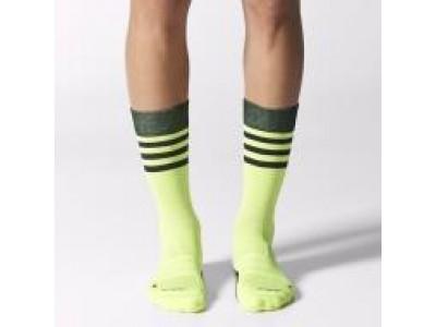 Adidas crew sokker - lime grøn