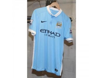 Manchester City hjemme trøje 2015/16 - Kompany 4