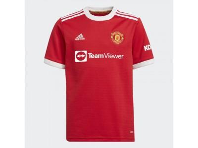 Manchester United hjemme trøje 2021/22 - børn - fra adidas