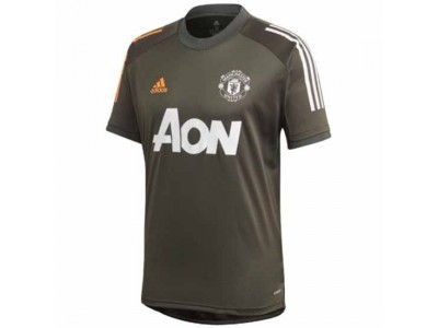 Manchester United Green Training Jersey 2020/21