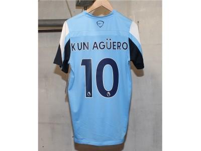 Manchester City træningstrøje 2013/14 - El Kun 10