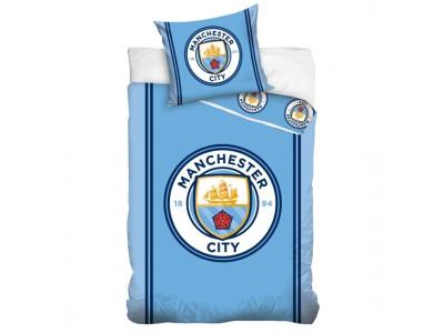 Manchester City sengetøj - nyt logo