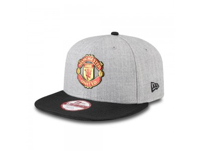 Manchester United Kasket New Era 9Forty Devil Cap - Grå Sort
