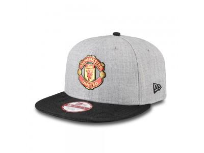 Manchester United Kasket New Era 9Forty Devil Cap - Grå Sort