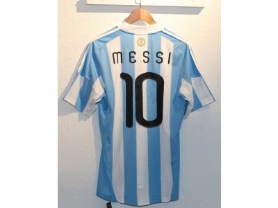 Argentina hjemme trøje VM 2010 - Messi 10