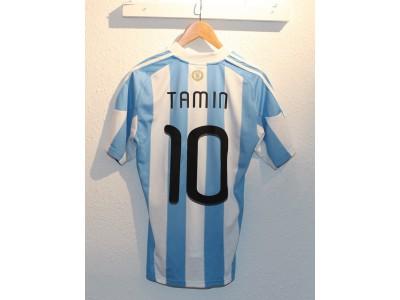 Argentina hjemme trøje 2010 - Tamin 10