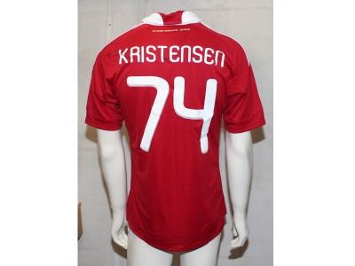 Danmark hjemme trøje VM 2010 - Kristensen 74