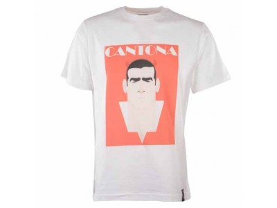 Stanley Chow Cantona T-Shirt - hvid