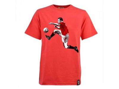 Miniboro Cantona T-Shirt- Rød
