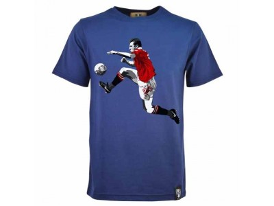 Miniboro Cantona T-Shirt - marineblå