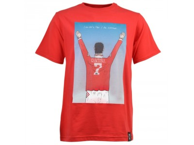 Man United -  I AM CANTONA T-SHIRT - rød