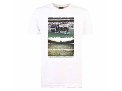 Pennarello El Partido Del Siglo 1970 T-shirt - Hvid