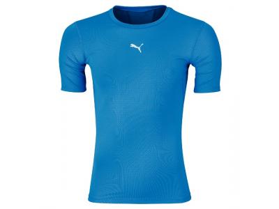 Puma compression tee korte ærmer - blå