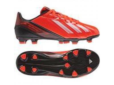 F10 TRX FG Messi græsbanestøvler - rød - børn